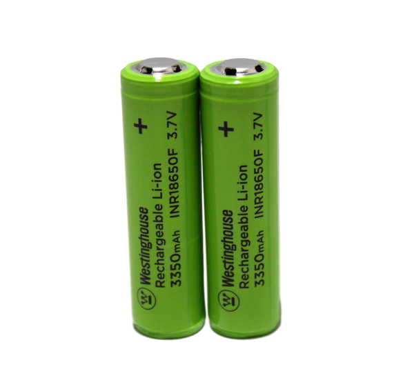 westinghouse, 18650, lithium ion, Li-ion, 3.7V, 3350mAh, 18650 battery