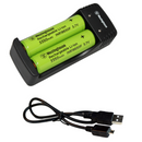 westinghouse, 18650, 18650 charger, lithium ion battery charger, 2 cell charger, USB battery charger