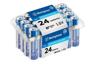 westinghouse, aa, alkaline, aa battery, AA Batteries