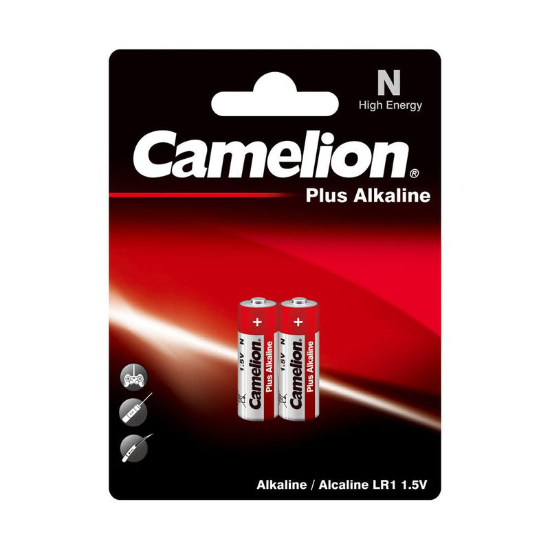 Camelion N alkaline batteries 2 pack, N battery, N batteries