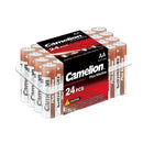 Camelion AA alkaline plus, AA, AA batteries, AA alkaline batteries, AA 24 pack batteries