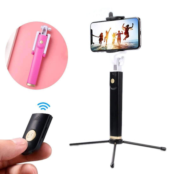 Portable Foldable Wireless Bluetooth Shutter