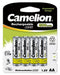 Camelion AA 800mAh batteries, AA rechargeable, AA rechargeable 4 pack