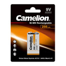 Camelion 9V BATTERY, rechargeable 250mAh