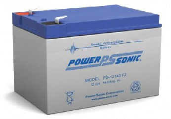 power sonic, powersonic, PS-12140, F2, 12V 14Ah, F2 terminal