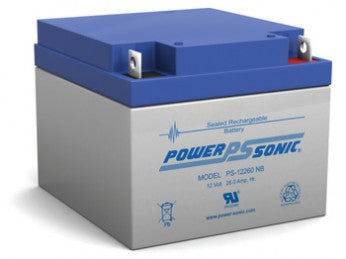 Power Sonic PS-12260 12 Volt 26Ah Nut & Bolt Terminal