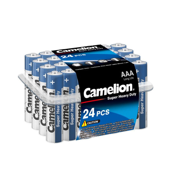 Camelion AAA Super Heavy Plastic Tub of 24