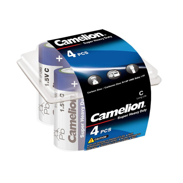 camelion c batteries, c batteries, 4 pack c batteries