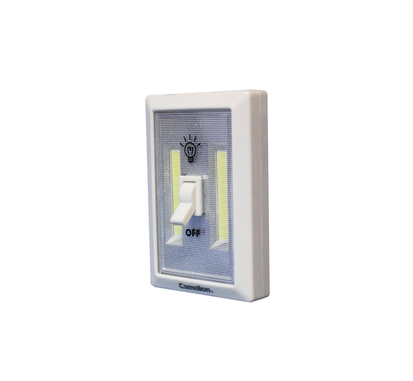 Camelion Switch light, wireless light, COB LED lighting, Light, area lighting, room light, battery powered, battery operated