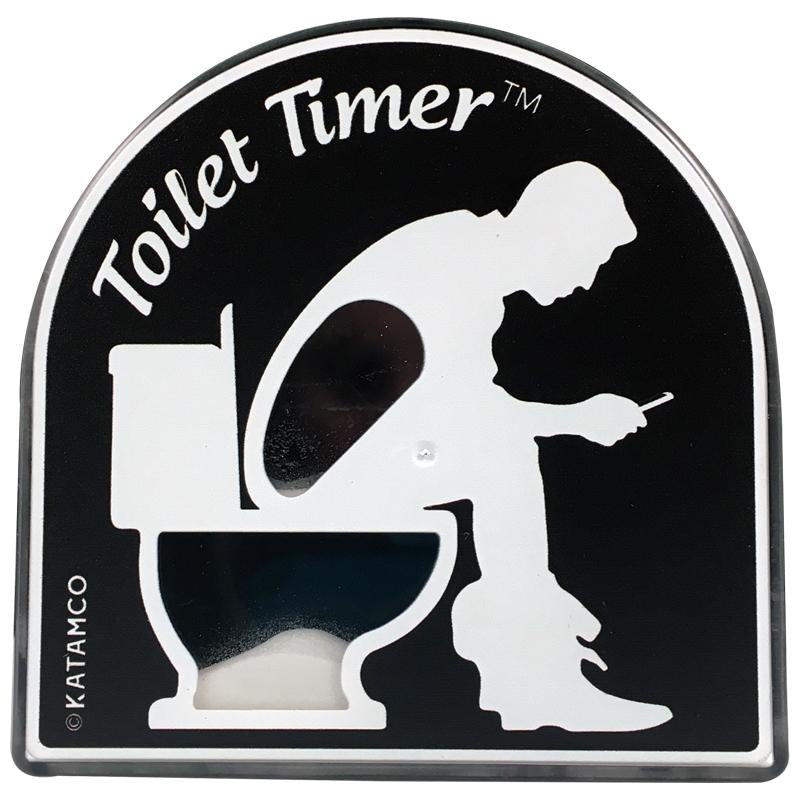 toilet timer, gag gift, holiday gift