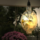 NEW! RetroEssence™ Battery Operated LED Vintage Light | by Pacific Accents™ - with Remote