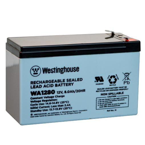 WA1280N SEALED LEAD ACID BATTERY (12V 8AH)