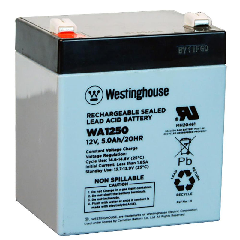 bw 1250 12v5ah battery westinghouse wa1250