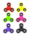 fidget spinners, colored fidget spinners, fidget spinners for kids
