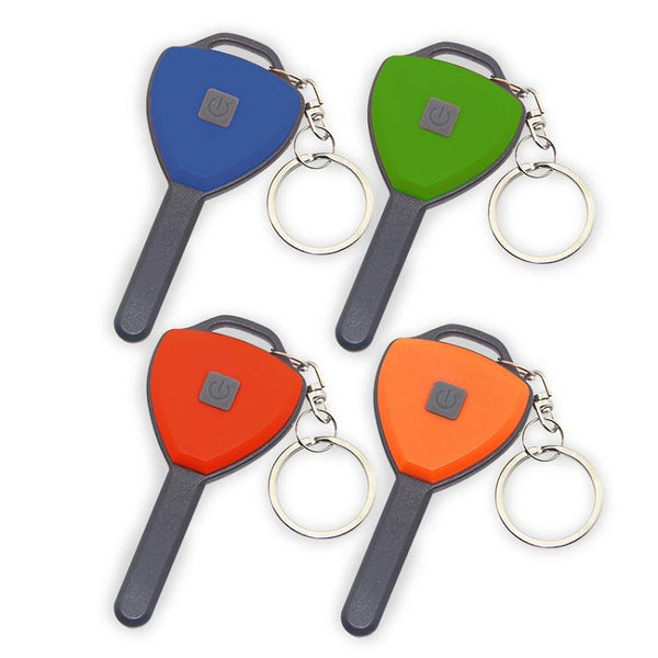 COB LED Key chain light, key ring light, flashlight for keys, travel light, key shaped light, bright travel light, flashlight for book bags