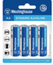 westinghouse, AA, AA battery, alkaline batteries
