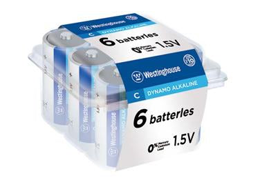 Westinghouse C alkaline batteries