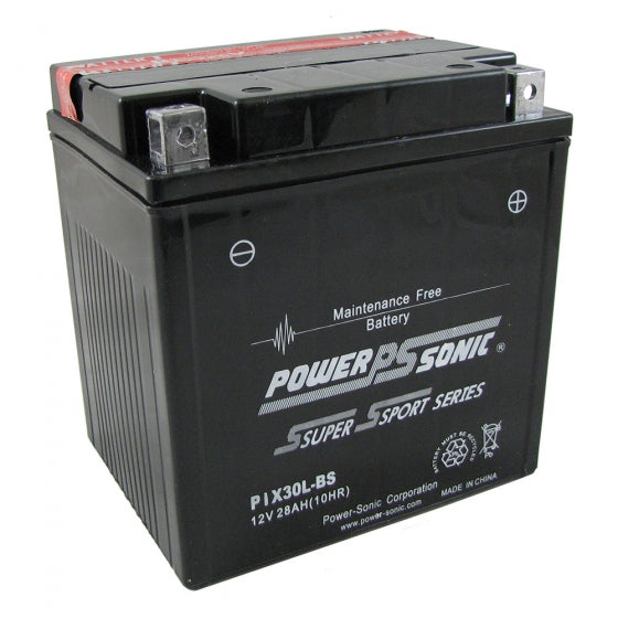 powersonic, power sonic, power sport battery, PIX30L-BS, motorcycles battery, scooter battery, ATV battery, personal watercraft battery, snowmobile batteries