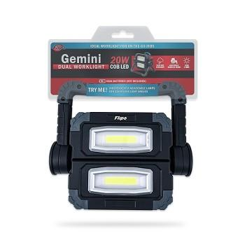 Gemini Dual Work Light, work light, garage light, kickstand light, work light