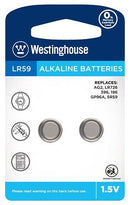 westinghouse, AG2, 396, LR726, button cell battery