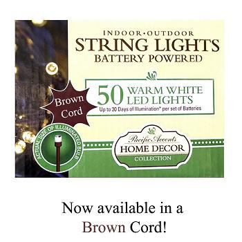 battery powered string lights, home decor collection