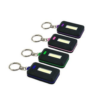 Micron Keyring Flashlight With COB LED Light