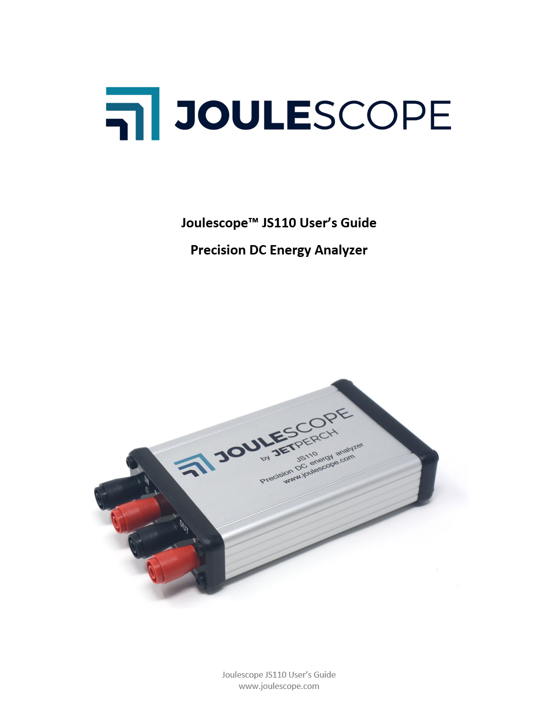 Joulescope User's Guide