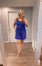 Load image into Gallery viewer, Romper Royal Blue