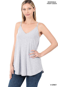 Basic Tank Heather Grey