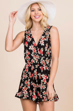 Load image into Gallery viewer, Floral Romper