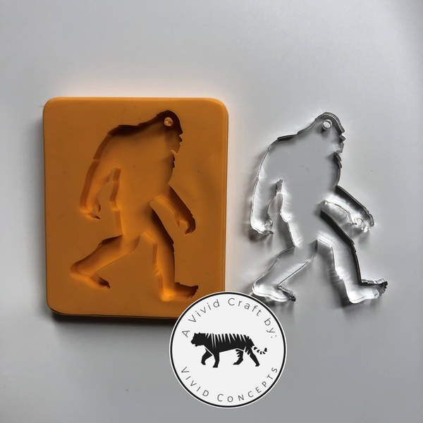 Big Foot Silicone Mold