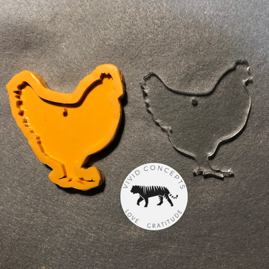 Chicken Silicone Mold
