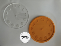 Engraved Moon Clock Silicone Mold