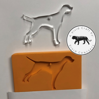 English Pointer Dog Silicone Mold