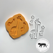 Load image into Gallery viewer, Giraffe Silicone Mold