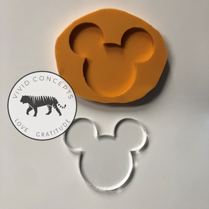 Mouse Phone Grip Topper Silicone Mold (boy)