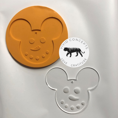 Snow Mouse Silicone Mold