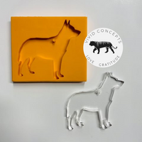 Australian Cattle Dog / Blue Heeler Silicone Mold
