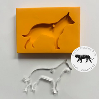 Australian Cattle Dog / Blue Heeler 2 Silicone Mold