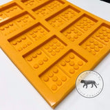 Dominoes Silicone Mold (set of Double 6 or 9)