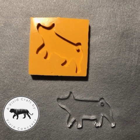 Show Pig Silicone Mold