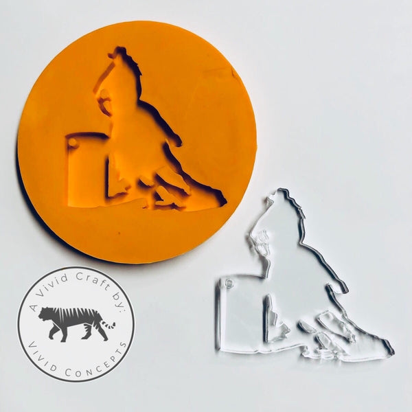 Barrel Racer Silicone Mold