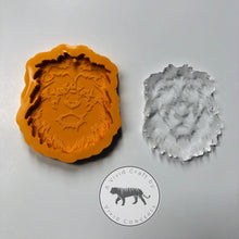Load image into Gallery viewer, Lion Face Silicone Mold