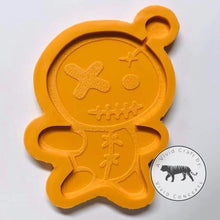 Load image into Gallery viewer, Voodoo Doll Coaster Silicone Mold