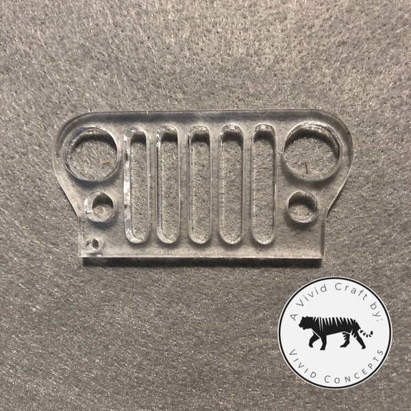 Jeep Front End Silicone Mold
