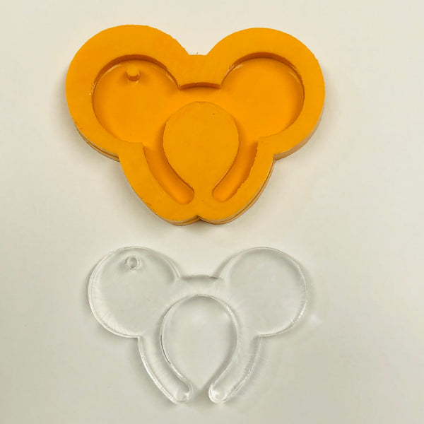 Mouse headband Silicone Mold (boy)