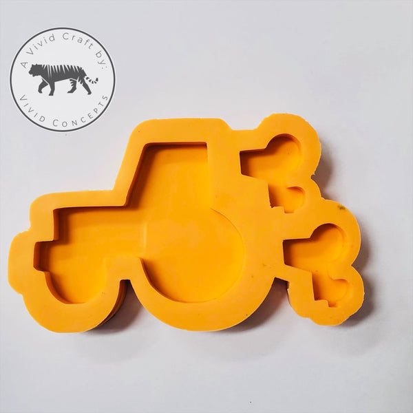 Tractor Family Silicone Mold Set