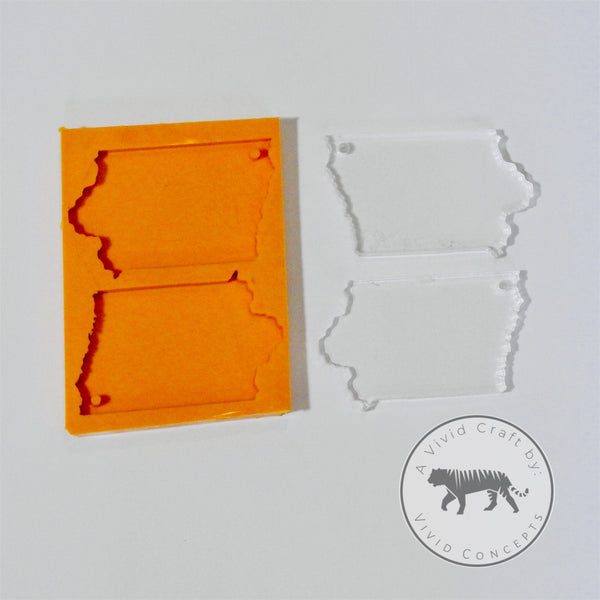 Iowa Silicone Mold