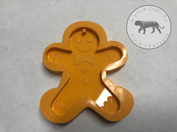 Gingerbread Man Silicone Mold