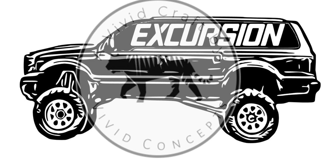 Excursion Decal